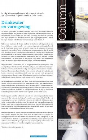 Designer @studiolotte, Waterspiegel Magazine Nr. 03, 2014. Photography by Britt Roelse, www.brittroelse.com