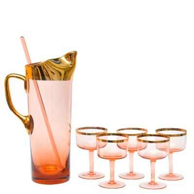 Vintage cocktail glasses and sets from the Hour - I'm in love!