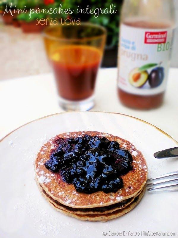 My Ricettarium: Mini pancakes integrali senza uova