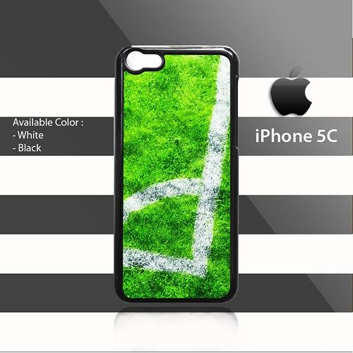 Football Corner Kick iPhone 5c Rubber Case Cover