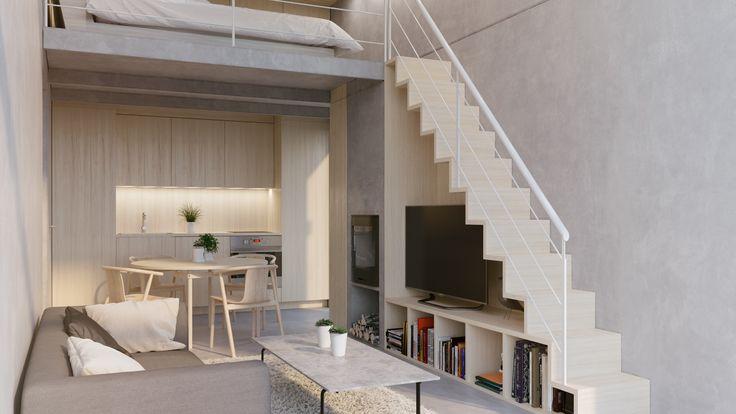"""""""Givent"""" Stockholm Interior design, Exterior render, Scandinavian design, 3D visualisation, render, archviz, 3Ds Max, modern design, styling"""