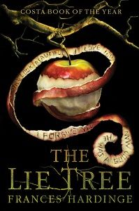 Starred review of Frances Hardinge's The Lie Tree by Martha V. Parravano, May/June 2016 Horn Book Magazine. This cover is so good and the story's even better.