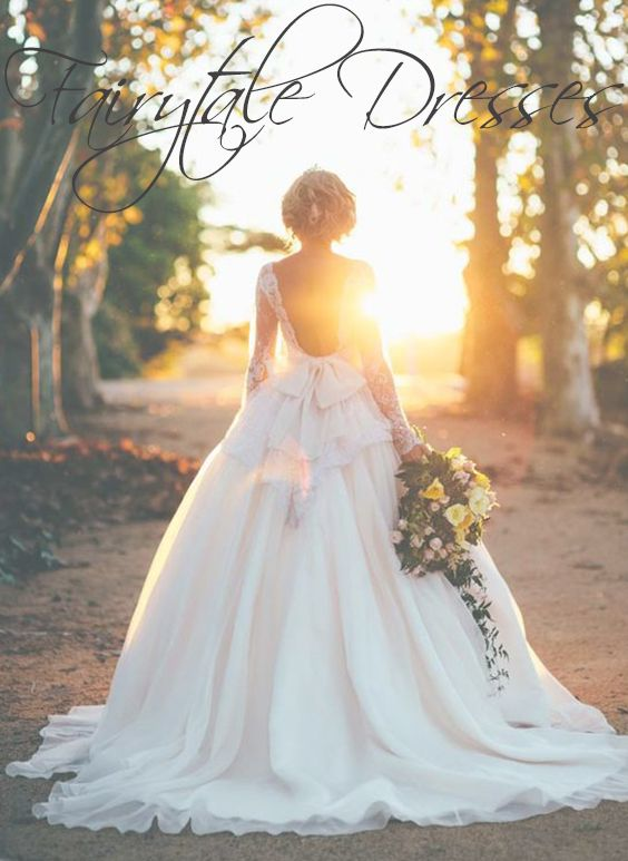 12 Fairytale Wedding Dresses Bridal Inspiration