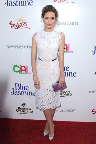 Le look de Rose Byrne