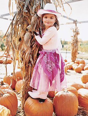 Handmade Halloween Costumes: Cowgirl Princess (via Parents.com)