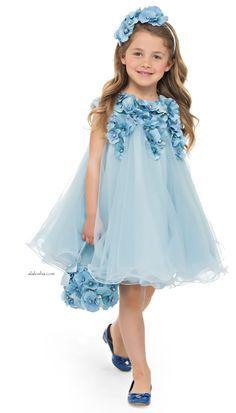Azul Vestido Elegante para Fiesta                                                                                                                                                                                 Más