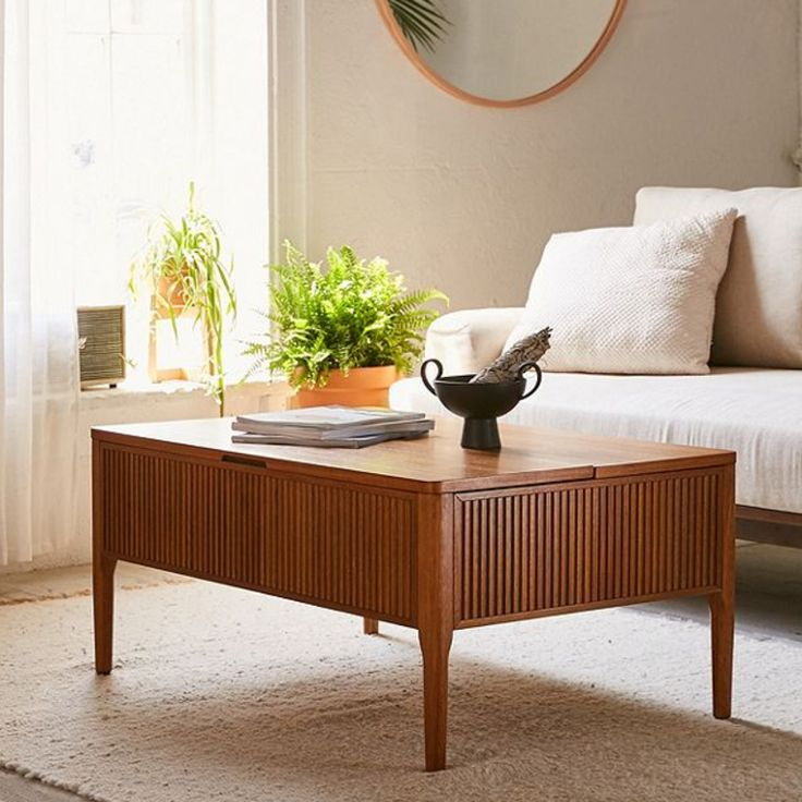The Coolest Hidden-Storage Coffee Tables That'll Keep Your Living Room Clutter Free