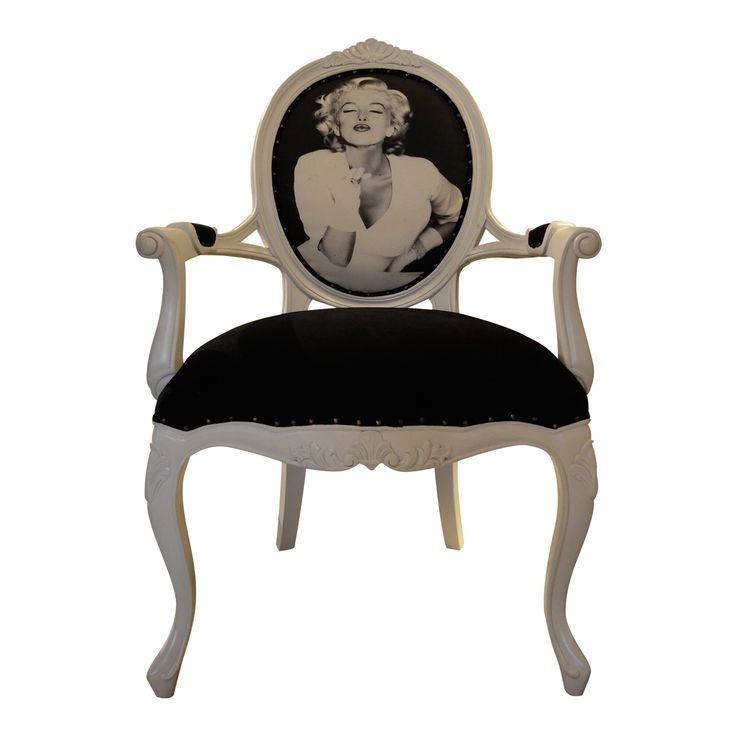 A Beautiful Vintage French Arm Chair Reveals The Elegant Looks For Your  Classic Decoration. Feel The Comfort Of The Design To Complete Your Relax  Time.