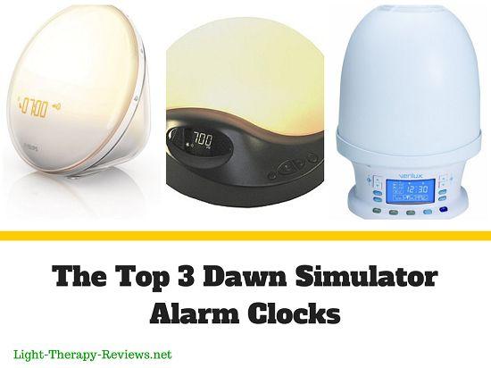Dawn Simulator Alarm Clock – The Top 3 Light Therapy Alarm Clocks (In 2013)