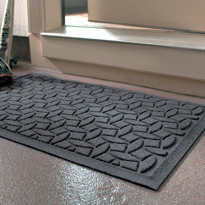 Water Dirt Shield Ellipse Commercial Grade Door Mat Frontgate Door Mat Design Traps Frontgate