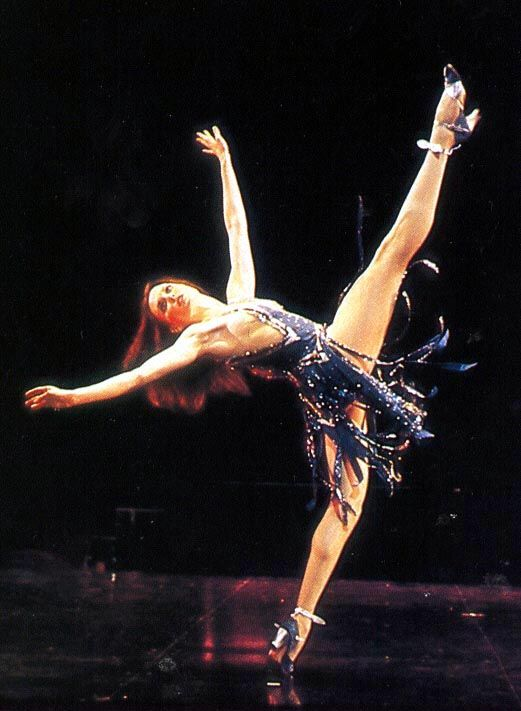 Ann Reinking in 'Sing! Sing! Sing!' from Bob Fosse's Dancin'