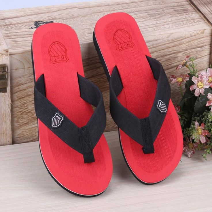 Hot Sale New Fashion Mens Style Summer Slippers Eva Casual Beach Slipper Flip-flops Outdoor Indoor Male Sandals //Price: $10.38 & FREE Shipping //     #Jewelry