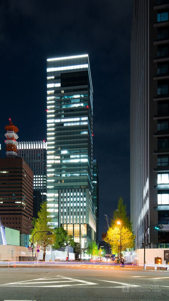 Yomiuri Shimbun Head Office Building (読売新聞東京本社ビル). / Architect : Nikken Sekkei (設計:日建設計).