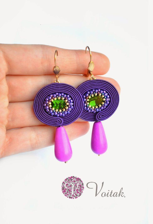 Soutache Jewelry. Artystyczna Biżuteria Autorska Katarzyna Wojtak: biżuteria artystyczna