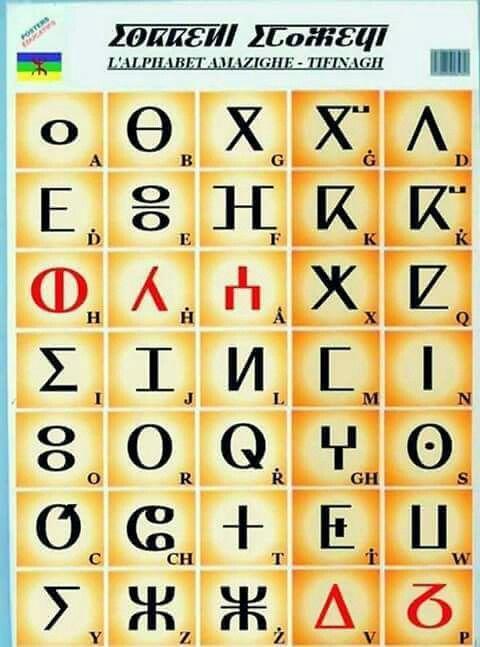 Alphabet kabyle