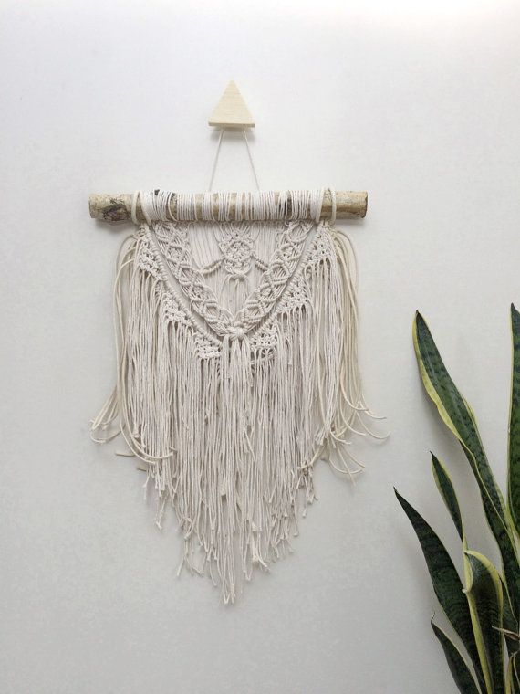 16 Small Macrame Wall Hanging Tapestry Macrame By