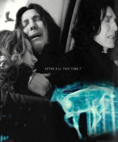Severus Snape Harry Potter Always <3