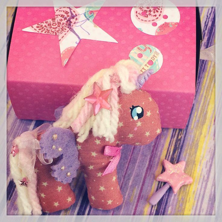Unicorno nella scatolina