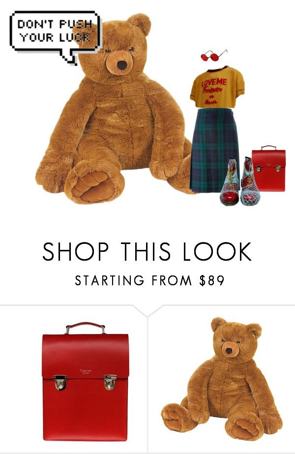 """Unbenannt #108"" by nelly-and-the-giant ❤ liked on Polyvore featuring Sophie Fleming, Le Kilt and Dr. Martens"