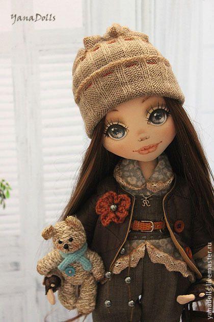 Коллекционные куклы ручной работы. Ярмарка Мастеров - ручная работа Ясмина. Handmade.