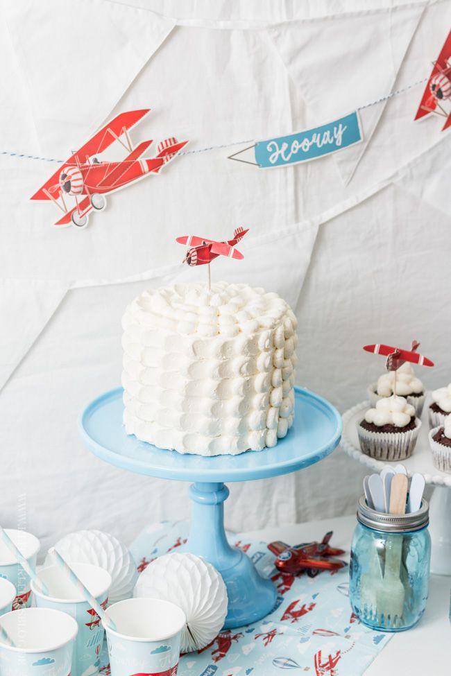 Flugzeug Geburtstagsparty - airplane birthday party