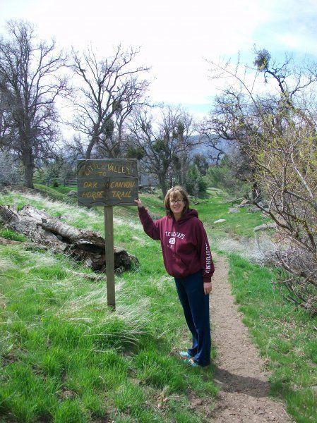 Little Valley Trail Bear Valley Springs Tehachapi Ca