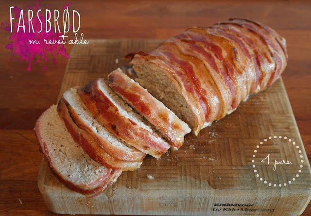 God mad og søde sager: Farsbrød m. æble