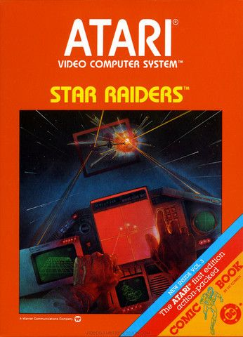 Complete Star Raiders - Atari 2600 Game
