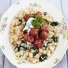 Jamie Oliver: Zweedse gehaktballetjes met rijst en knolselderij - recept - okoko recepten