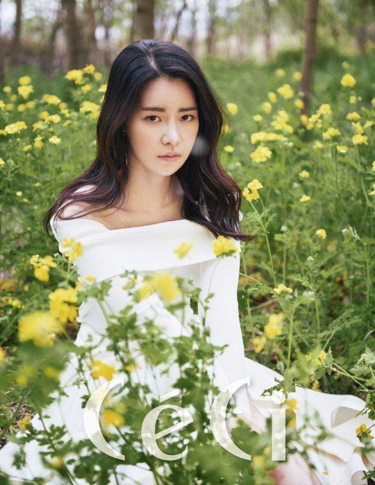 Lim Ji Yeon becomes one with nature in 'CeCi' pictorial | allkpop.com