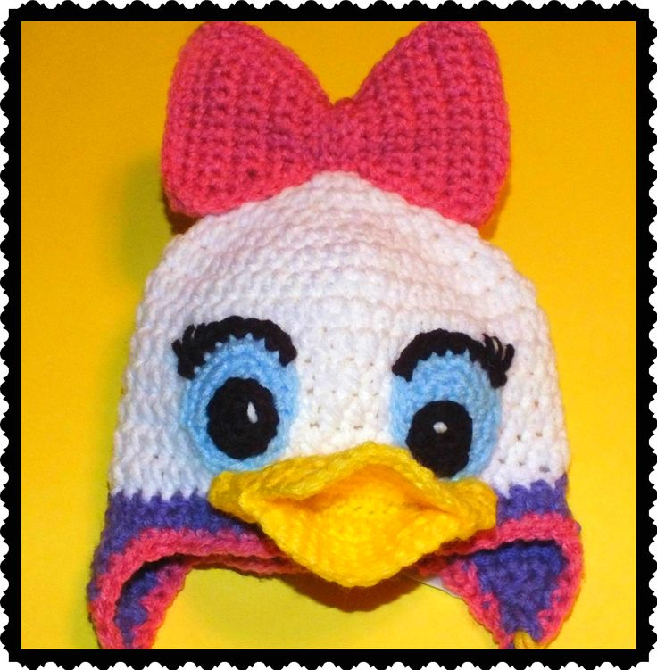 Mejores 88 imágenes de Crochet Hats en Pinterest | Gorro tejido ...