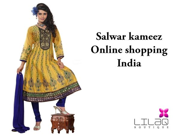 Salwar kameez online shopping india is a slide to describe why salwar kameez become popular in india and the new trends in salwars. For more ckick the image
