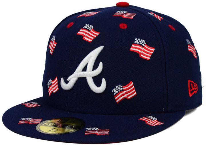 New Era Atlanta Braves All Flags 59FIFTY Cap