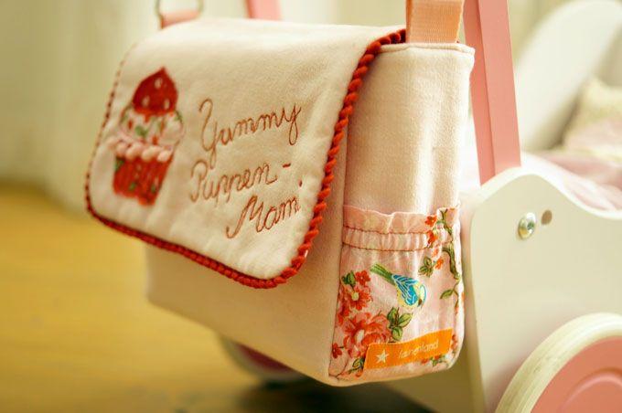 Puppen-Wickeltasche für eine kleine Puppenmami