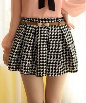 fitness-fits-me:  Houndstooth Skirt for $5.27 #fitness