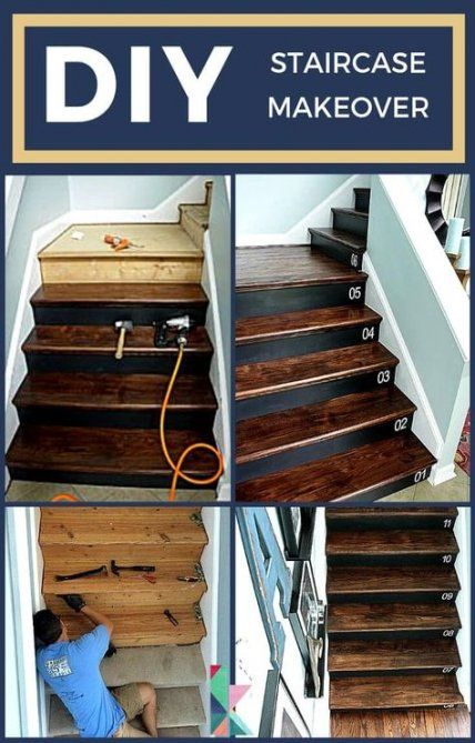 Best 29 Ideas For Basement Stairs Diy Staircase Remodel 640 x 480