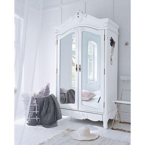 Kleiderschrank weiß barock  Die besten 25+ Barock spiegel weiß Ideen auf Pinterest | Barock ...
