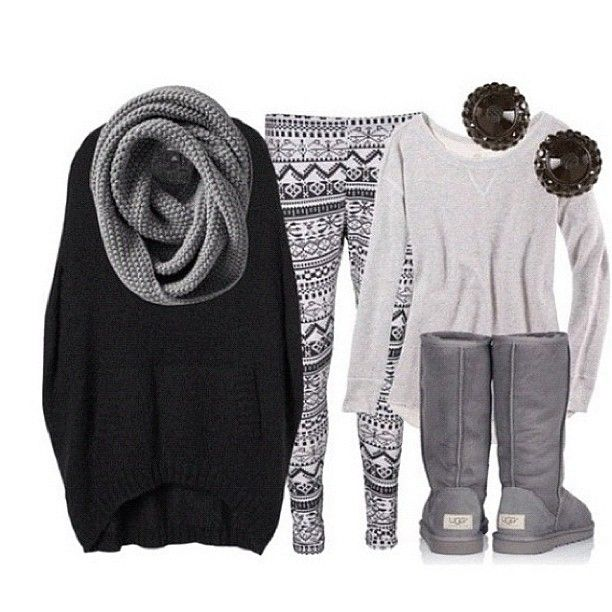 I really want those festive tights, the grey scarf and the black sweater thing thanks!:)