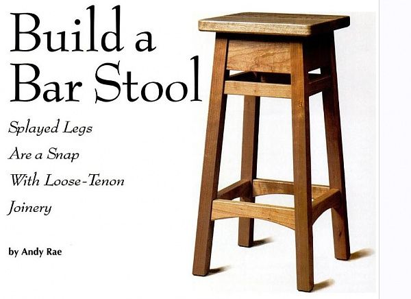 Shop Stool(Link to plans)