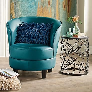 13 best images about Swivel chairs on PinterestBlue accent