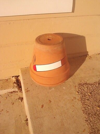 Decorative Clay Pipe : Best ideas about outdoor ashtray on pinterest pvc