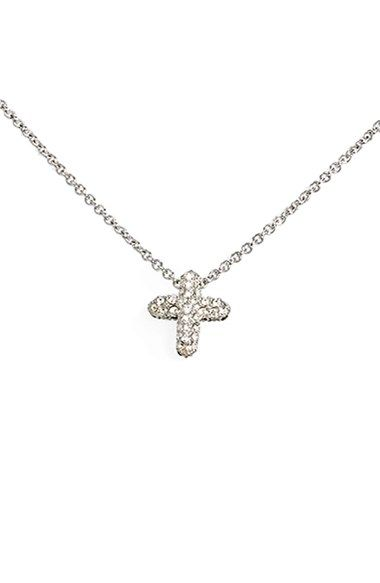 Judith Jack Reversible Pavé Cross Pendant Necklace available at #Nordstrom