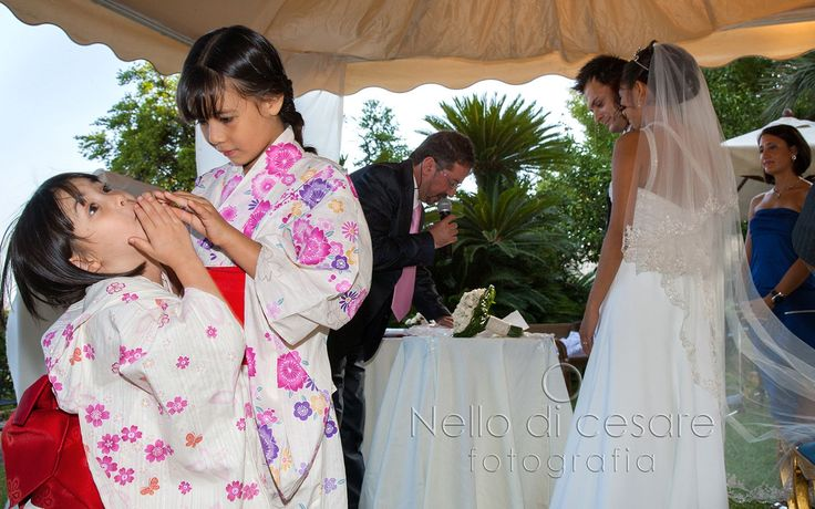 Beautiful #multiethnic #wedding at Villa Domi, #Naples!  #nellodicesarephotographer #love #bridesmaid #photographer #italy #asia #villadomi