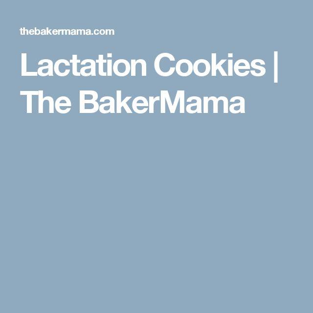 Lactation Cookies | The BakerMama