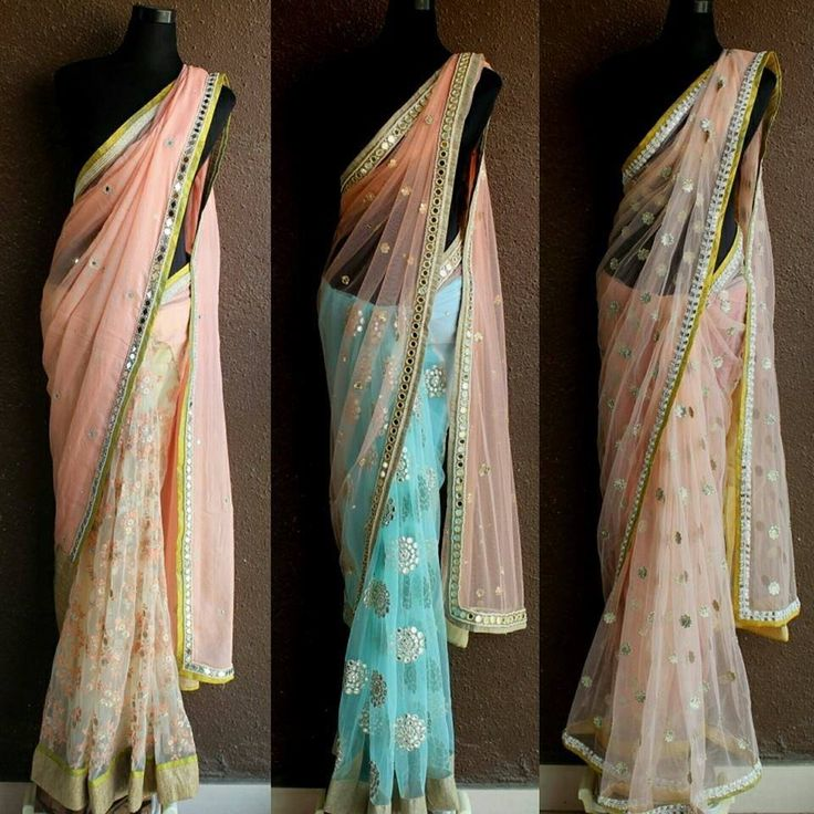 Looking for some designer net sarees? More on the blog #Frugal2Fab