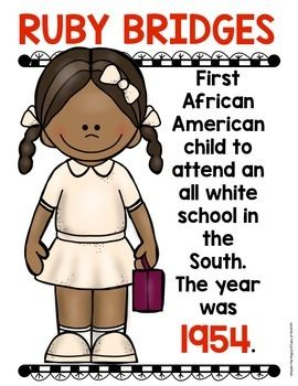 Black History Month Posters for Kindergarten and First Grade Social Studies. $
