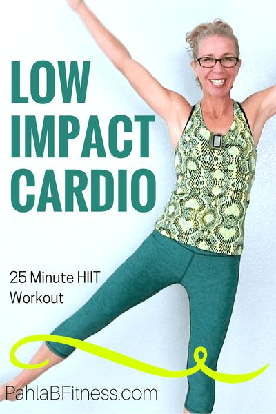 FUN 25 Minute LOW IMPACT Cardio HIIT Workout - Burn 250 Calories at Home Without Jumping - Full Length Home Workout from Pahla B Fitness