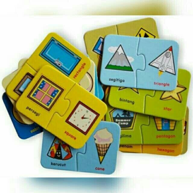 Saya menjual FLASH CARD PUZZLE BILINGUAL The Shapes seharga Rp30.000. Dapatkan produk ini hanya di Shopee! http://shopee.co.id/mainan.edukatif/3848380 #ShopeeID