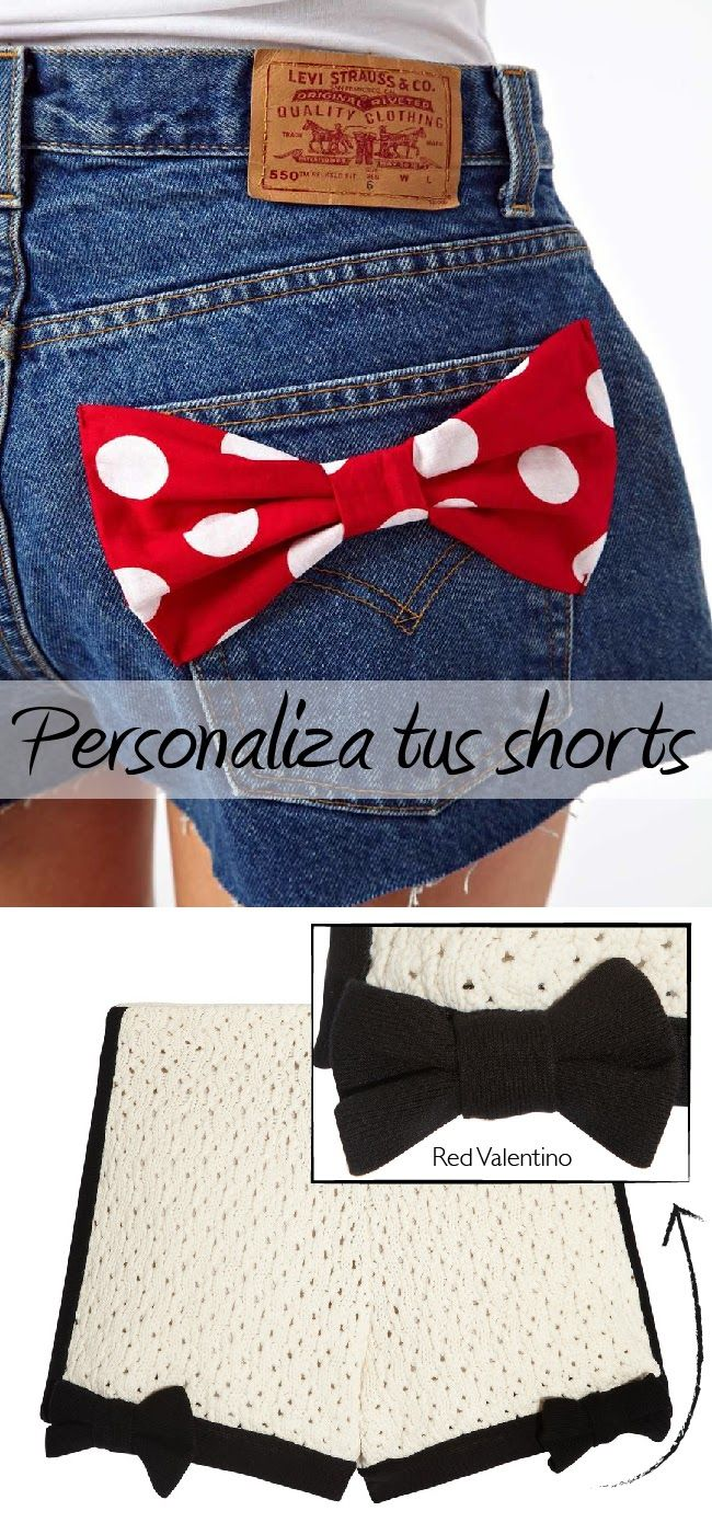 20 ways to decorate shorts!