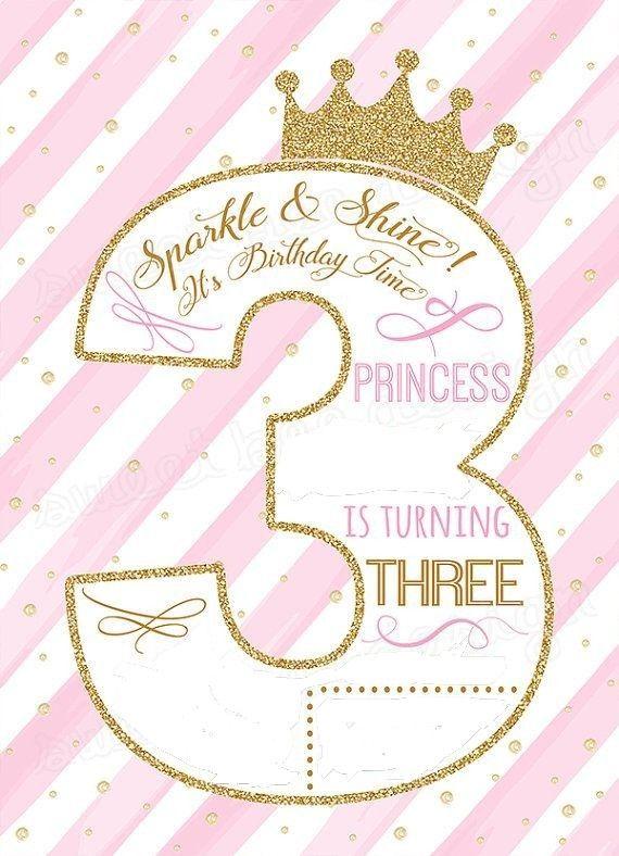 Pin By Sandi Radue On Cards Kids Age Princess Birthday